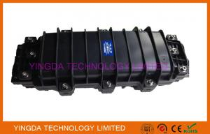 China Black Fiber Optic Joint Closure 24 Fiber Splice Tray For Manhole / Underground on sale
