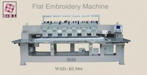 China WSD-BL906 flat embroidery machine on sale