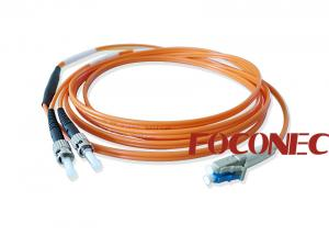 China Fiber Optic Mode Conditioning Patch Cord , LC SC ST LC Mode Conditioning Patch Cable on sale