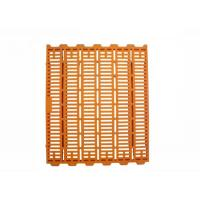 China Fiberglass Support Beams Plastic Pig Slats Poultry Farm Flooring Orange Color on sale