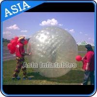 Transparent Inflatable Grass Ball Zorb Balls For Sale , Inflatable Zorb Ball