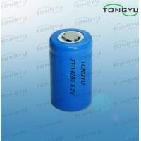 Low Self-discharge LiFePO4 Rechargeable Battery 3.2V 320mAh For Solar LED Lights / Flashlight