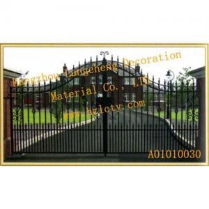 China Metal la puerta, puertas del metal, puerta de acero, puertas de acero, puerta de acero ornamental, puertas de acero ornamentales, metal favorable on sale
