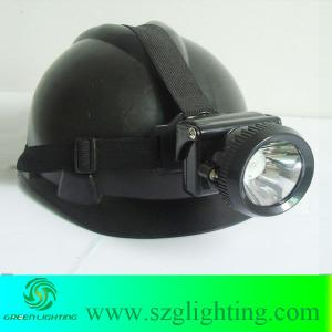 China 1W 4000LUX high brightness miner's safety cap lamp on sale