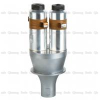 2800W  Double Ultrasonic Oscillator , Ultrasonic Welding Horn  For Fabric Welding Machine