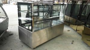 China Supermarket Pastry Display Cake Showcase Chiller / Refrigerator R404a Upright on sale