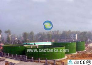 China Center Enamel Agriculture Water Storage Tanks For Irrigation , Sludge on sale