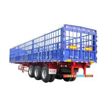 China High Quality Stainless Steel 3 Axle Cargo Trailer Skeleton Semi Trailer Sale In Africa on sale