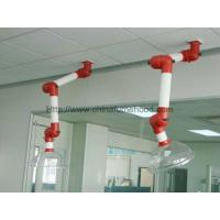 Chemical Laboratory Fittings , Ceiling Laboratory Fume Extraction Arms