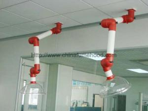 China Ceiling Fume Extraction Arm With PP Structure For Professional Laboratory on sale