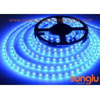 China DC 24V 14.4W SMD5050 Blue Flexible LED Strip Light IP 22  for Christmas or Decoration on sale