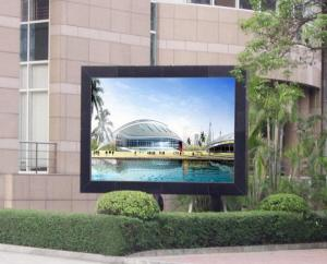 China Static Linsn P3 RGB outdoor advertising led display screen Full Color on sale