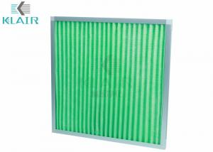 China Ashrae Merv 8 Pleated Air Filters Intake Pre Filter For Air Conditioning Unit on sale