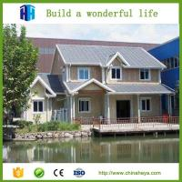 China Luxury Light Steel Structure Prefab Mansion Prefabricated House on sale