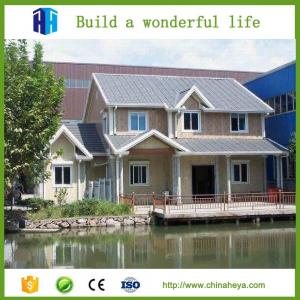 China low cost long service life luxury prefabricated steel villa house philippines on sale