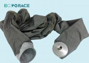 China PTFE Membrane Fiberglass Filter Bags Glass Fiber Filter Cloth Glass Fiber Filter Bag on sale