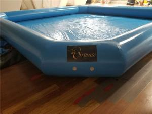 China Outdoor Square 125kg Inflatable Swimming Pools For Kids on sale