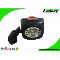 IP 68 waterproof 8000lux super bright underground safety led mining cordless cap lights with orange colorful pc shell