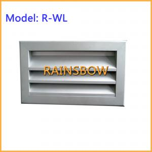 China Weather Louver R-WL,supply  return aluminium air grille air register air vent grille air diffuser on sale