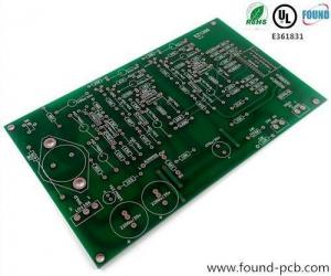 China FR4 PCB Board Smt Stencil Machine Single Sided PCB Board Green Solder Mask on sale