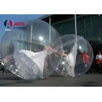 Target Zip Bubble Ball Dance Hamster Ball For People , Inflatable Ball In Water Can Walk Inside