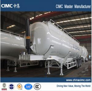 China tipping cement silo trailer on sale