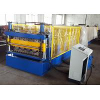 2 Layer Metal Roof Roll Forming Machine , Steel Trapezoidal Sheet Roll Forming Equipment