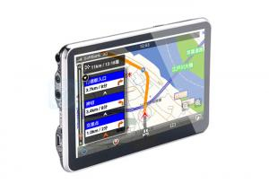 China 5 inch MT3351 GPS Car Navigator Support AV IN / Bluetooth / FM Transmitter on sale
