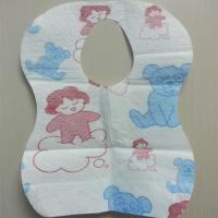 2014 new products Super Absorbent Disposable Baby Bib care your kids OEM accepted.