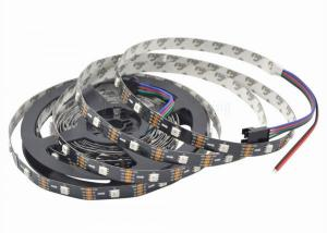 China APA102 High Density Addressable Led Strip DC 5V RGB LED Strip Adjusted Colors on sale