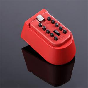 China Outdoor Combination Push Button Key Lock Box Rubber Waterproof Cover on sale