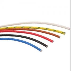 China High Voltage Fiberglass Insulated Copper Wire For House Hold UL3257 Standard on sale