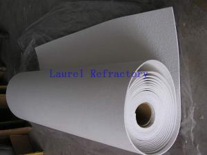 China Ceramic Fiber Insulation Refractory Paper For Induction Coil Liner on sale