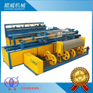 China 1.4mm - 4.5mm Stainless Wire /  PVC Full Automatic Chainlink Fence Weaving Machine on sale
