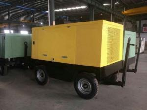 China High Power Diesel Air Compressors Portable Type 90KW for Commercial or Geological Exploration Industry on sale