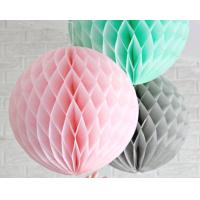 China Honeycomb ball wedding wedding room supplies Europe and the United States paper ball export Round honeycomb wholesale on sale