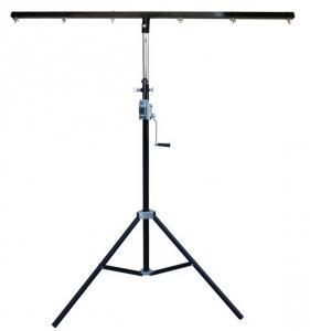 China 3m Tripod LED par Light Stand Height 1.5-3m Adjustable Powder Coated Steel Light Truss on sale