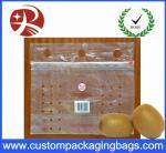 Подгонянные ясные мешки свежих фруктов слайдера PE упаковывая с отверстием