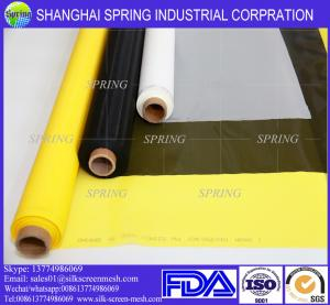 China Polyester Silk Screen Mesh For Procelain /Cloth/ PCB Printing on sale