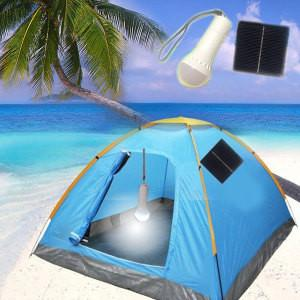 China China Solar Energy /Portable Solar LED Torch Solar Powered Camping Lamp for Garden on sale