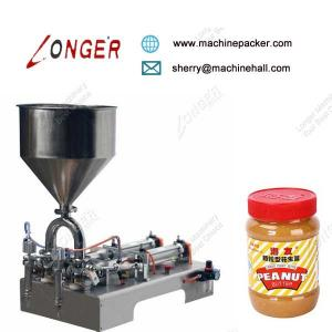 China Quality High Speed Hand Operated Sesame Paste Filling Machine Price on sale