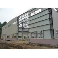 Hot Rolled Steel Frame Workshop , Pre Built Metal Shops Ready Made Structural Sections