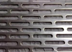 China 1.22x1.22m Mild Steel Perforated Metal Sheet For Mining For North America on sale