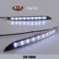 KIA K2 DRL LED Daytime driving Lights Car front light retrofit fashion