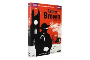 China New Release Father Brown Season 5 DVD Movie The TV Show Series DVD Wholesale on sale