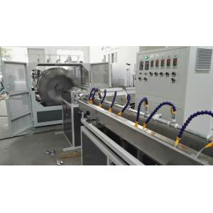 China 66kw Plastic Pipe Extrusion Machine / PVC Fiber Reinforced Hose Pipe Making Machine on sale