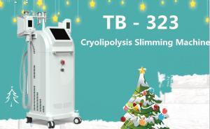 China 100kpa Five Handles Cryolipolysis RF Cavitation Machine For Cellulite Removal on sale