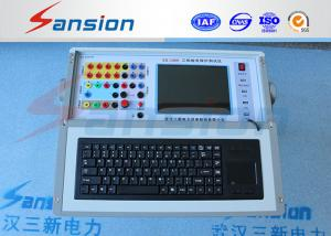 China Auto Adapt Relay Protection Tester , High Precision Relay Test Equipment on sale