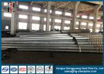 Galvanized Power Transmission Poles For Power Transmission Line Electrical Steel Tubular Tower Pole