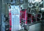 Вертикальная машина упаковки уплотнения ФФС заполнения формы на порошок и зерно 25 Кг 50 Кг